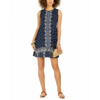 Style & Co Women's 'Sleeveless Printed A-Line' Dress