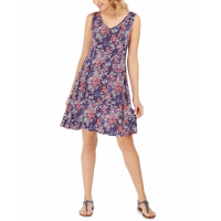 Style & Co Women's 'Sleeveless Printed Strappy-Back' Dress