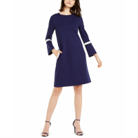 Anne Klein Women's 'Bell-Sleeve Knit' Dress
