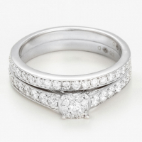 Diamantini 'Duo Amour Éclatant' Ring