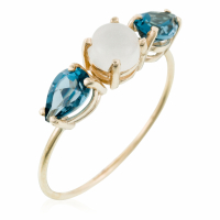 By Colette Women's 'Céleste Trio' Ring