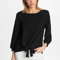 Karl Lagerfeld Women's 'Bow Tie' Top