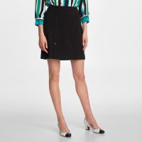 Karl Lagerfeld Women's 'Button' Mini Skirt