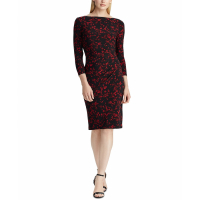 LAUREN Ralph Lauren Women's Long-Sleeved Dress