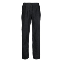 Emporio Armani Women's 'High Waisted Crinkled' Trousers