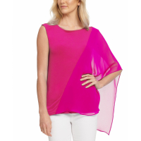 DKNY Top 'One-Sleeve Mesh' pour Femmes