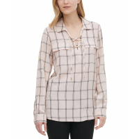 Calvin Klein Women's 'Windowpane' Top