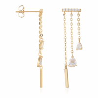 By Colette Women's 'Cascade Lumineuse' Earrings