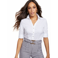 New York & Company Women's 'Madison Stretch' Shirt
