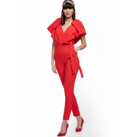 New York & Company Women's 'Deep V Neck' Jumpsuit