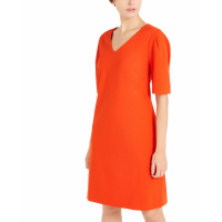 Alfani Women's 'V-Neck Puff-Sleeve' Dress
