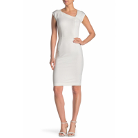 French Connection Women's 'Lula Asymmetrical Neck' Dress