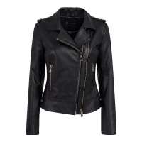 Roccoban Women's Biker Jacket