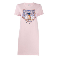 Kenzo Women's 'Tiger-Embroidered' T-shirt Dress
