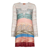 Missoni Mare Women's 'Lace-Up' Long-Sleeved Dress