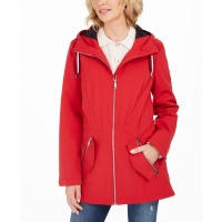 Tommy Hilfiger Women's 'Hooded Water-Resistant' Anorak