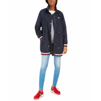 Tommy Hilfiger Women's 'Hooded Drawstring-Waist' Jacket