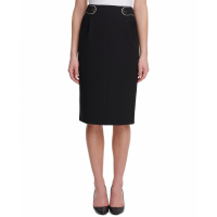 Tommy Hilfiger Women's 'Button-Tab' Pencil skirt