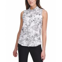 Tommy Hilfiger Women's 'Floral Button-Up' Blouse