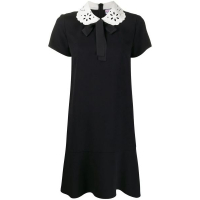 Red Valentino Robe T-shirt 'Peter Pan Collar' pour Femmes