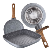 Cook & Chef 'Daimiel' Induction Pan Set - 2 Units