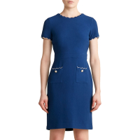 Karl Lagerfeld Paris 'Wave Piping' Kleid für Damen