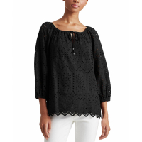 LAUREN Ralph Lauren Women's 'Eyelet' Top