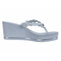 Guess Women's 'Selle' Wedge Flip Flops