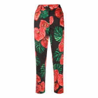 Dolce & Gabbana Women's 'Laceleaf Cropped' Trousers