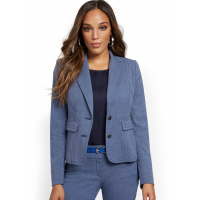 New York & Company Women's 'Topstitched Two Button' Blazer