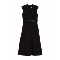 Calvin Klein Women's 'Surplice Belted' Midi Dress