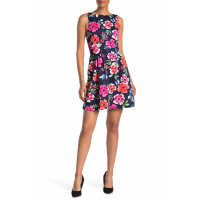 Vince Camuto Women's 'Sleeveless' Fit & Flare Dress