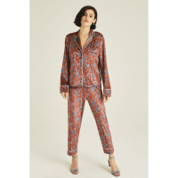 The House of Silk 'Praisley' Top & Pyjamahose Set für Damen