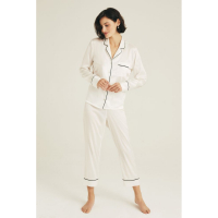 The House of Silk 'Luxury' Top & Pyjamahose Set für Damen