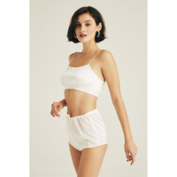 The House of Silk 'Retro Bridal' Crop top für Damen