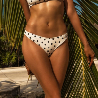 Khongboon Women's 'Hoku Dotted Dreams' Bikini Bottom