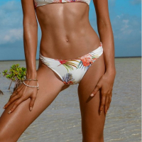Khongboon Women's 'Hoku Seaside Escape' Bikini Bottom