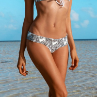 Khongboon Women's 'Ohana Palm Springs' Bikini Bottom