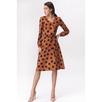 Nife Women's Wrap dress
