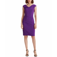 LAUREN Ralph Lauren Women's 'Cowlneck' Sleeveless Dress