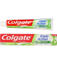 Colgate 'Triple Action Extra Fresh' Toothpaste - 75 ml