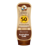Australian Gold Lotion de protection solaire 'SPF50 With Bronzer' - 237 ml