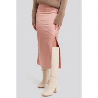 NA-KD Trend Women's 'Split Seam' Midi Skirt