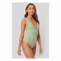 NA-KD Swimwear Women's 'Wide Shoulder Strap' Swimsuit