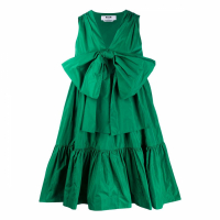 MSGM Women's 'Bow-Front' Sleeveless Dress