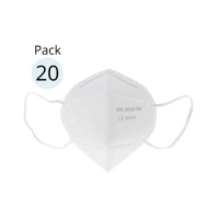 Mask Protection Masque pliable 'KN95-FFP2' - 20 Unités