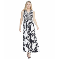 London Times Robe maxi 'Printed' pour Femmes