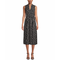 Anne Klein Women's 'Drawstring-Waist' Midi Dress