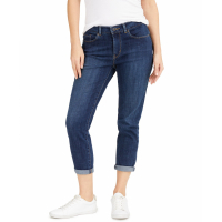 Levi's 'Women's 'Cropped Cuffed Straight-Leg' Jeans
