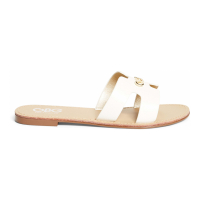 G by Guess 'Nina Cutout Logo Slide' Sandalen für Damen